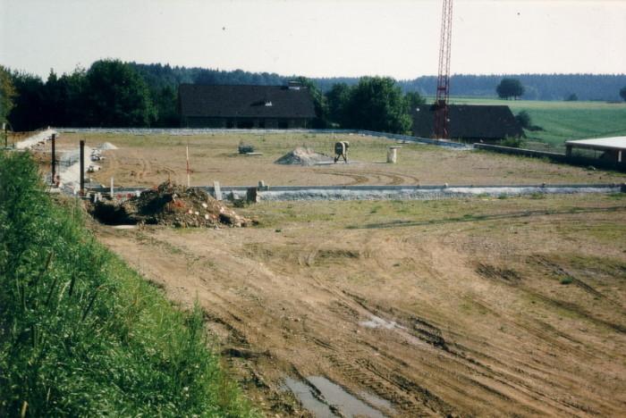 Bau Tennisanlage 06