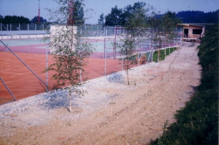 Bau Tennisanlage 13